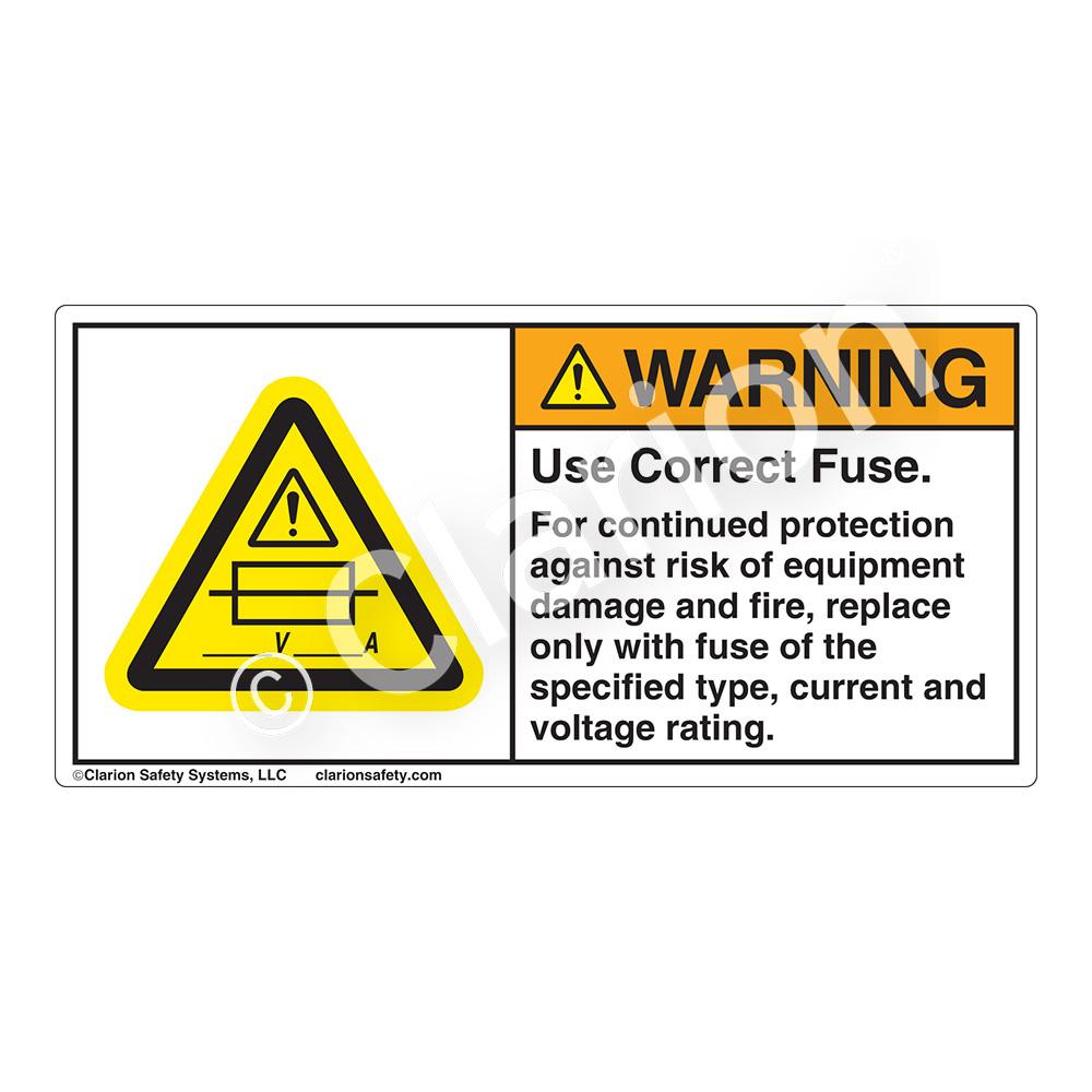 Fuse Fire Hazard Symbol Circuit Diagram Symbols